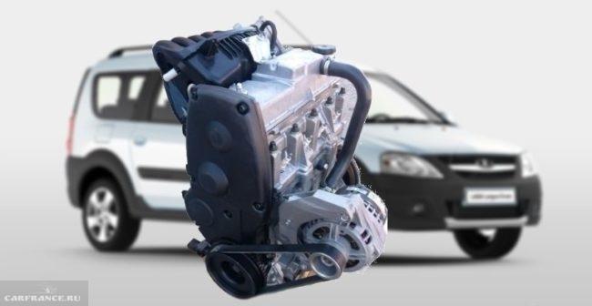 Мотор ВАЗ 11189, 8 клапанов