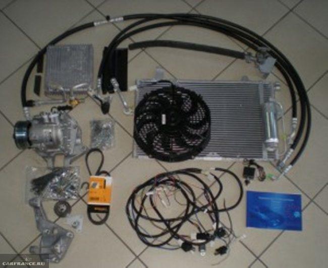 Запасные части необходимые для установки кондиционера