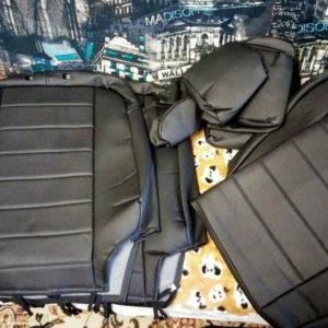 Чехлы автопилот распакованы на Рено Дастер