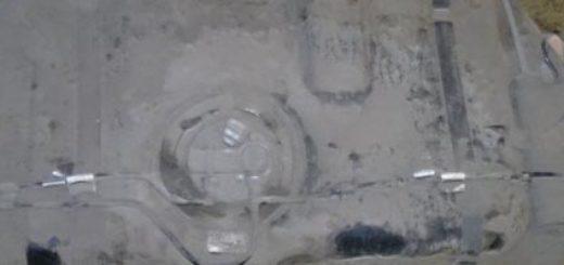 Бензобак на Лада Калина универсал вблизи