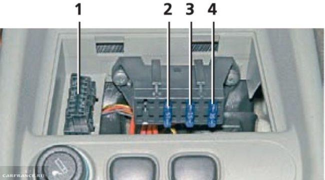 Монтажный блок двигателя Лада Калина