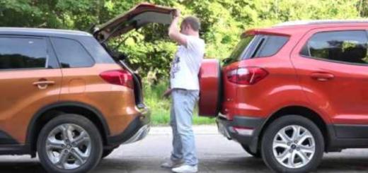 Багажник Каптур и Экоспорт