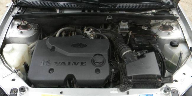 Двигатель объём 1.4 литра Лада Калина
