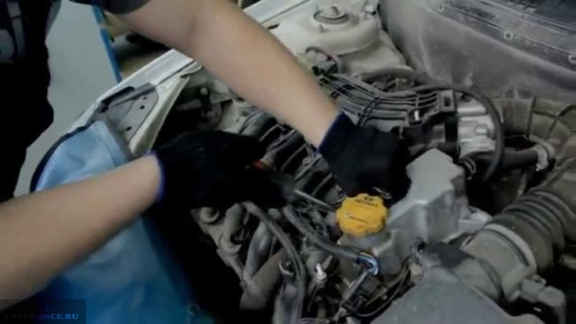 Двигатель Лада Калина