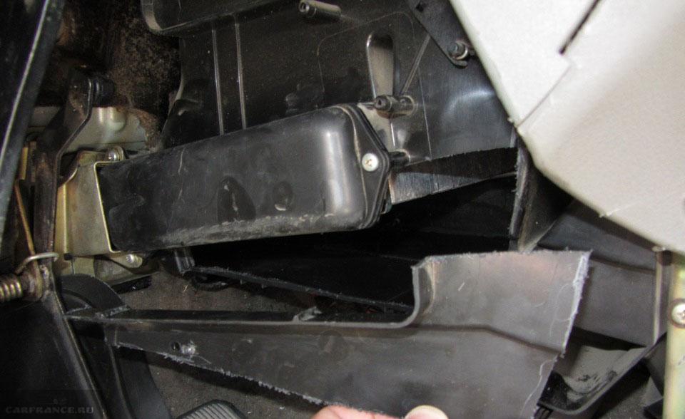Замена радиатора печки лада калина