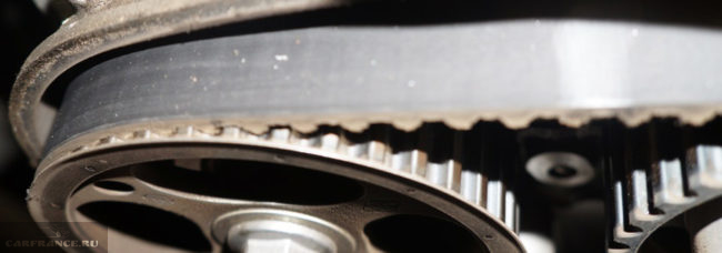 Проверка состояния ремня ГРМ на Рено Дастер