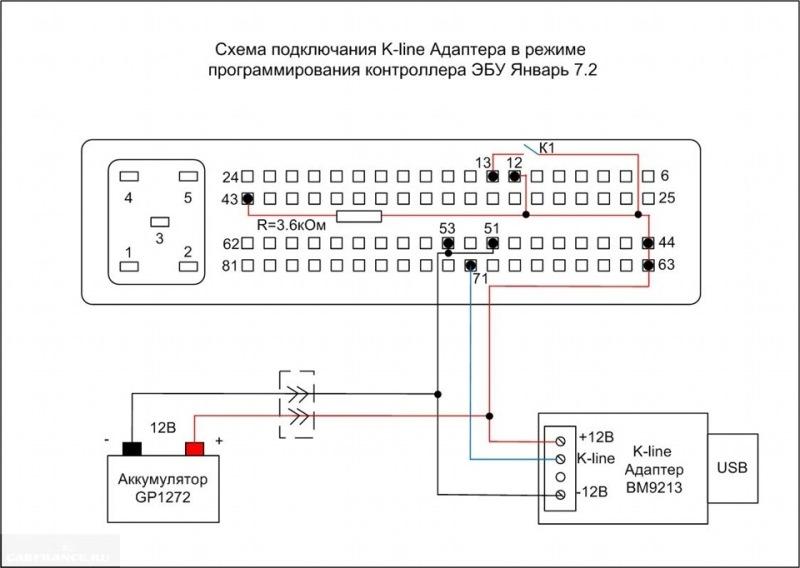 Как сделать кабель для прошивки эбу январь 5.1.1