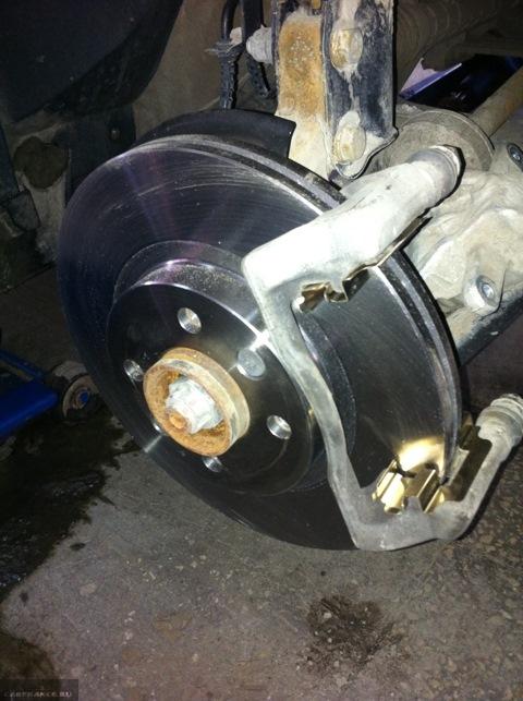 Тормозной диск без суппорта и колодок Лада Ларгус
