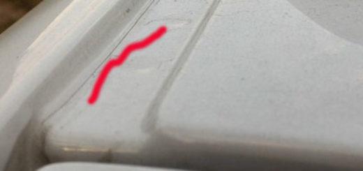 Толщина металла кузова на крыше Рено Дастер