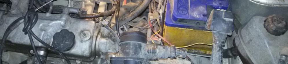 Под капотом Лада Калина троит двигатель