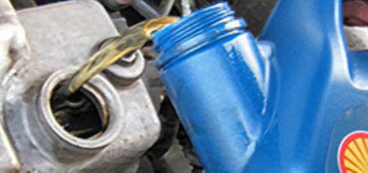 Замена масла в двигателе на Лада Калина