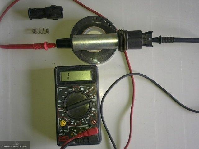 Проверка катушки зажигания ВАЗ-2112