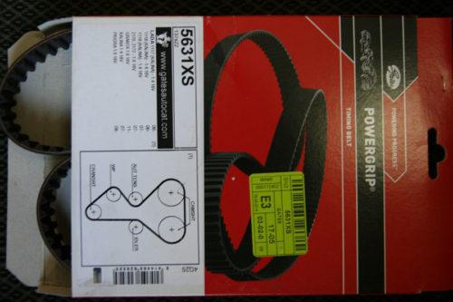 Оригинальная упаковка ремня ГРМ Gates на ВАЗ-2112
