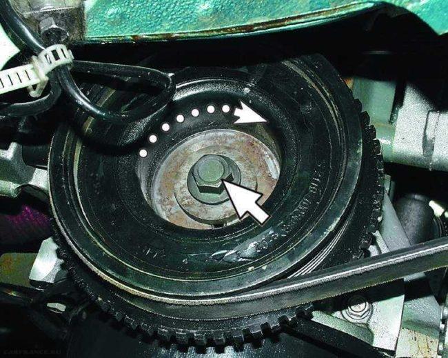 Шкив коленчатого вала ВАЗ-2112