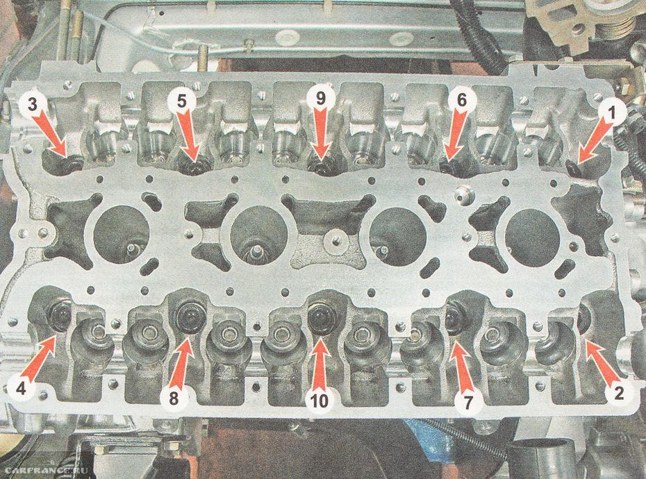 Замена клапанов ВАЗ-2112 16 клапанов своими руками: фото, видео
