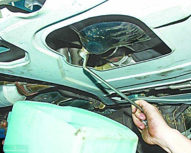 Пробка в картере ВАЗ-2112