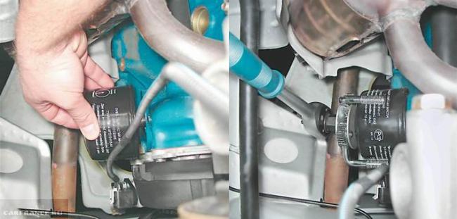 Маслофильтр двигателя ВАЗ 21124