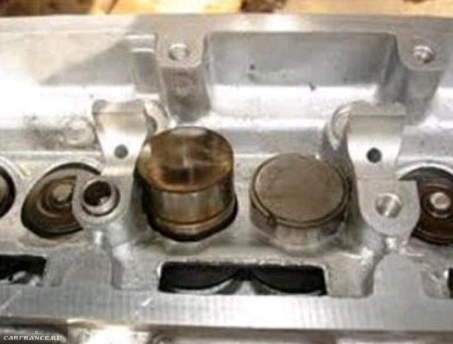 Гидрокомпенсаторы в головке блока цилиндров на ВАЗ-2112