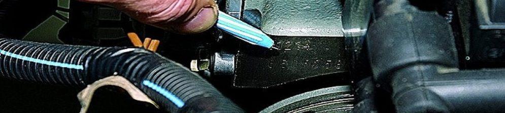 Номер двигателя вблизи ВАЗ-2112