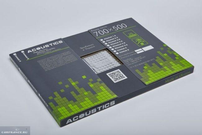 Материал для шумоизоляция Acoustics