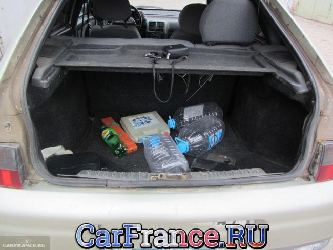 Внешний вид багажника на ВАЗ-2112