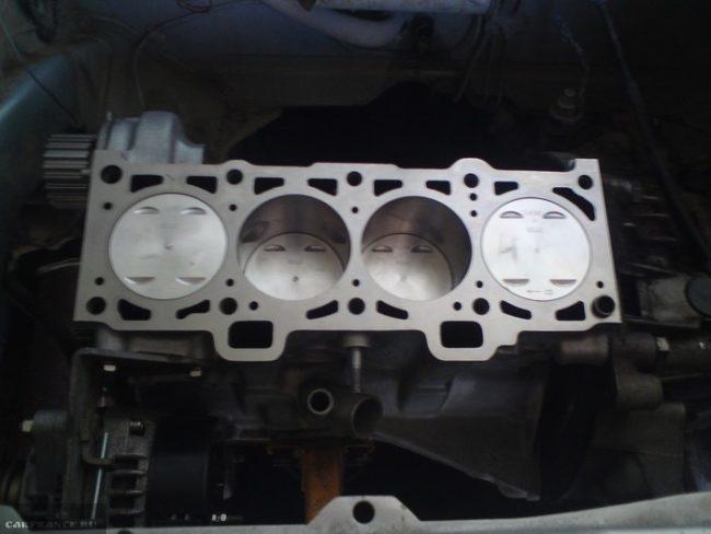 Блок цилиндров ВАЗ-2112