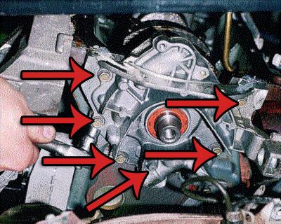 6 болтов крепления бензонасоса двигателя ВАЗ-2112