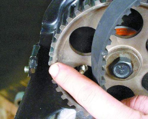 Демонтаж ремня ГРМ ВАЗ 2112