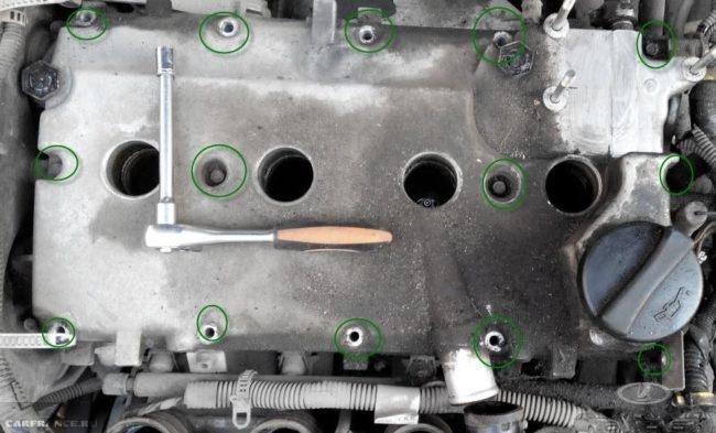 Болты крепления ГБЦ ВАЗ-2112