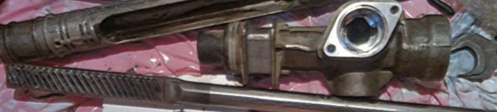 Рулевая рейка снятая с ВАЗ-2112 для замены