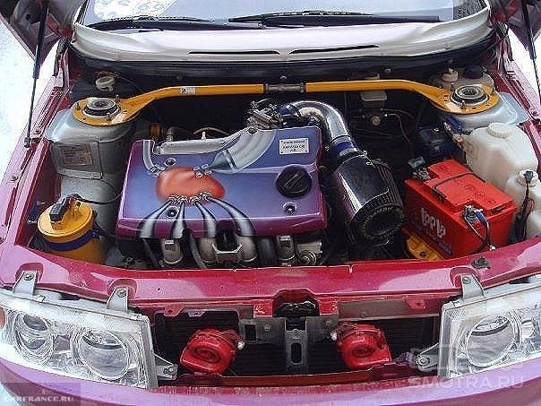 Тюнингованный двигатель ВАЗ-221