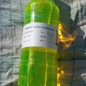 Этикетка с завода от антифриза для Лада Ларгус