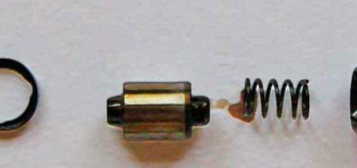 Гидрокомпенастор ВАЗ-2112 в разрезе разобранный