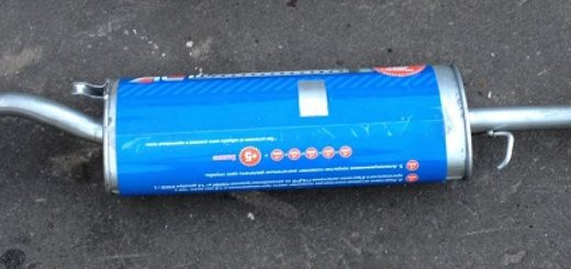 Основной глушитель на ВАЗ-2112