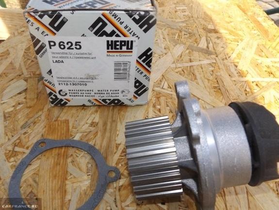 Помпа HEPU для ВАЗ-2112