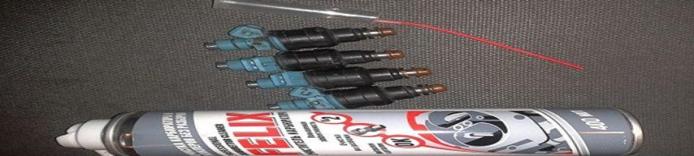 Чистка форсунок ВАЗ-2112 при помощи средства для карбюратора