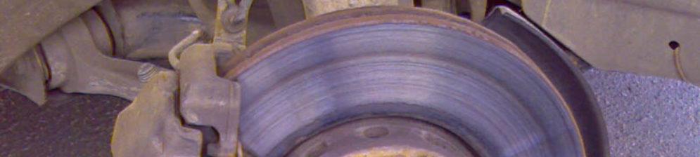 Следы канавок на тормозном диске ВАЗ-2112
