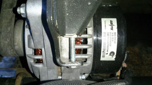 Генератор КЗАТЭ на ВАЗ-2112 16 клапанов
