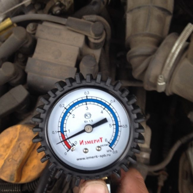 Манометр для измерения давления ВАЗ-2112