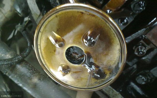 Чистка забитого маслоприёмника двигателя ВАЗ-2112