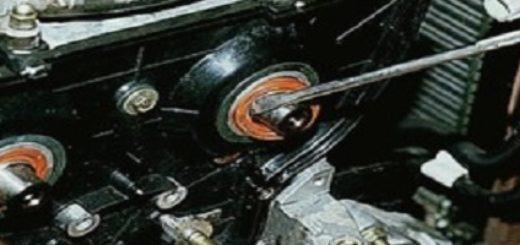 Демонтаж сальников распредвала ВАЗ-2112