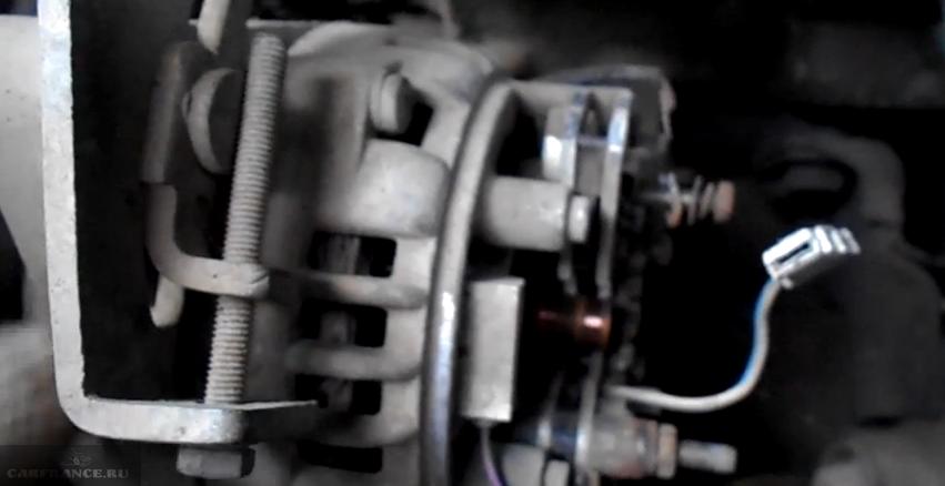 Как снимать генератор на ваз 2112 видео