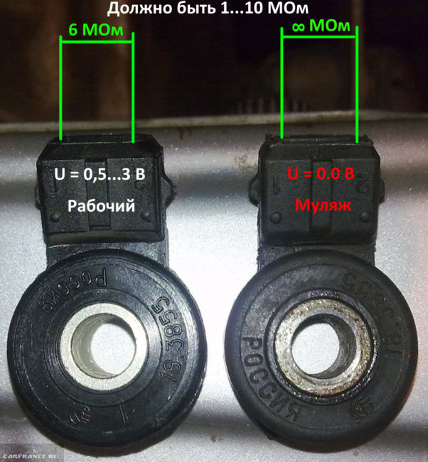 Датчики детонации ВАЗ-2112