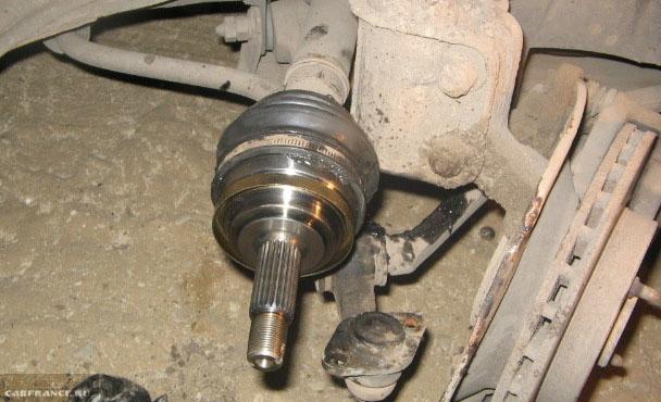 Установка внешней гранаты на привод колеса ВАЗ-2112