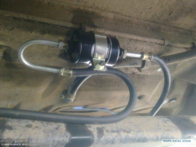 Новый фильтр топлива на ВАЗ 2112