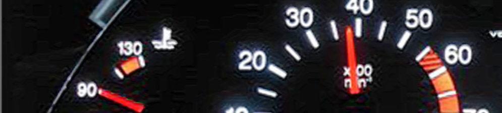 На тахометре 4000 оборотов двигателя ВАЗ-2112