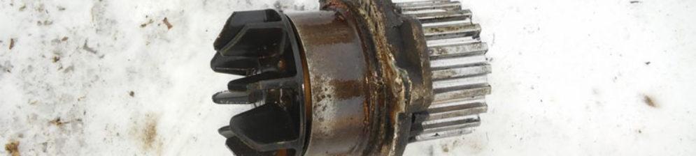 Механизм помпы стал жрать ремень ГРМ на ВАЗ-2112