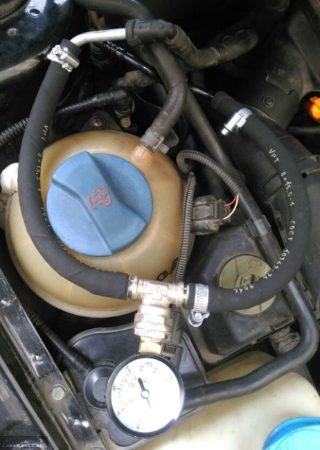 Замер давления в топливной рампе ВАЗ-2112