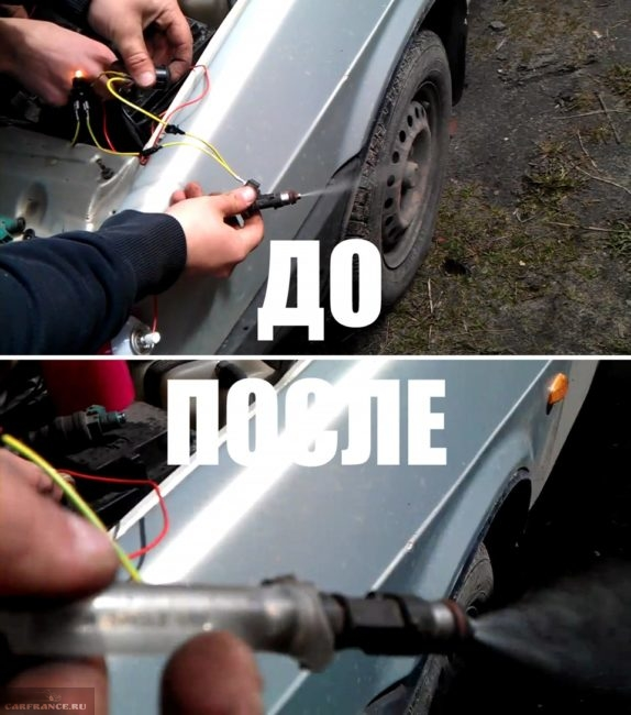 Работа форсунок ВАЗ-2112