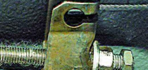 В процессе регулировки ручника на ВАЗ-2112